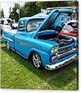 Cool Blues Classic Truck Canvas Print
