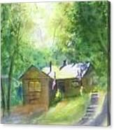 Cool Colorado Cabin Canvas Print