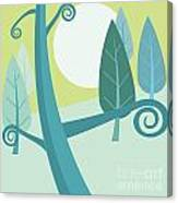 Cool Forest Canvas Print