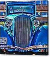 Cool Front End Hdr Canvas Print