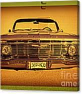 Cool Impala Canvas Print