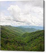 Cool Mountain Mist Canvas Print