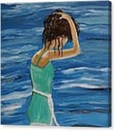 Cool Ocean Breeze Canvas Print