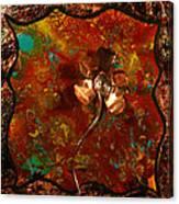 Copper Flower Canvas Print