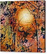 Copper Moon Canvas Print