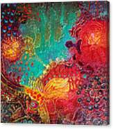 Coral World Canvas Print