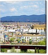 Cordoba Cityscape In Spain Canvas Print