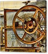 Corn Husker Machine Canvas Print