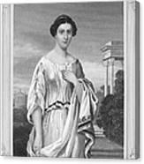 Cornelia (fl. 2nd Century Canvas Print