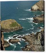Cornish Seascape St Agnes  Canvas Print