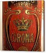 Corona Canvas Print