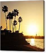 Coronado Sunset Canvas Print
