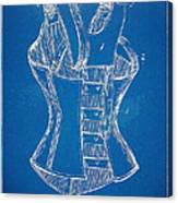 Corset Patent Series 1894 Canvas Print