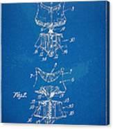 Corset Patent Series 1907 Canvas Print