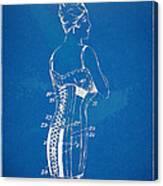 Corset Patent Series 1924 Canvas Print