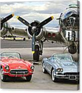 Corvette Club 01 Canvas Print