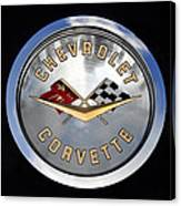 Corvette Name Plate Canvas Print