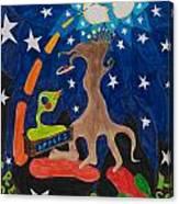 Cosmic Ancestry Canvas Print