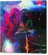 Cosmic Connection Canvas Print
