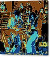 Cosmic Winter Blues 1975 Canvas Print