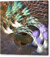 Cosmos Under Water - Fractal Art Canvas Print