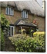 Cotswold Thatched Cottage Canvas Print