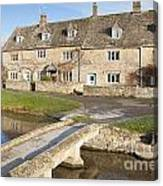 Cotswold Village Of Lower Slaughter Canvas Print