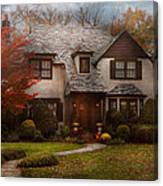 Cottage - Westfield Nj - The Country Life Canvas Print