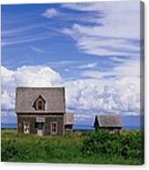 Cottage At Bay Of Chaleur Canvas Print