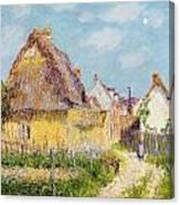 Cottage At Le Vaudreuil Canvas Print