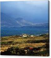 Cottage Near Renvyle, Connemara, Co Canvas Print