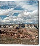 Cottonwood Canyon Badlands Canvas Print