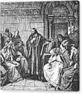 Council Of Constance, 1414 Canvas Print