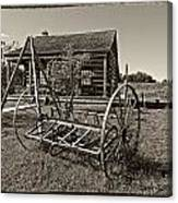 Country Classic Monochrome Canvas Print