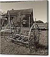 Country Classic Monochrome Canvas Print