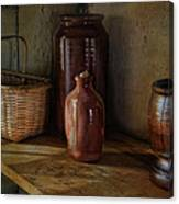Country Cupboard Canvas Print