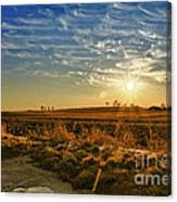 Country Light Canvas Print