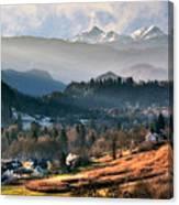 Countryside. Slovenia Canvas Print