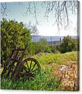 Countryside Wagon Canvas Print