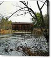 County Covered Bridge Canvas Print