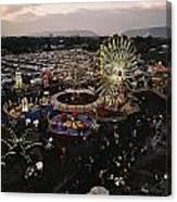 County Fair, Yakima Valley, Rides Canvas Print