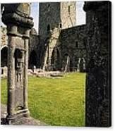 County Kilkenny, Ireland Jerpoint Abbey Canvas Print