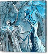 Coup De Tete 02 Canvas Print