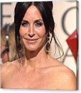 Courteney Cox Wearing Ofira Schwartz Canvas Print