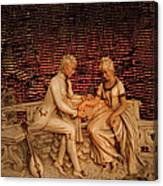Courting Canvas Print