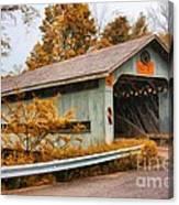 Covered Bridge 3 Canvas Print