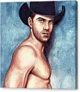 Cowboy Blue Canvas Print