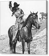 Cowgirl, C1920 Canvas Print
