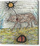 Coyote Spirituality Canvas Print