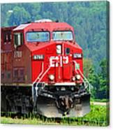 Cp Coal Train Canvas Print